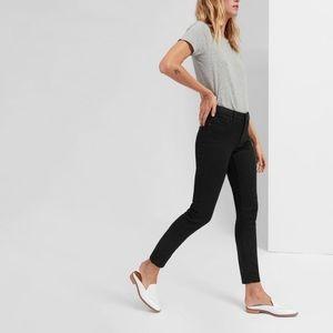 Everlane   Black Skinny Ankle Crop Jeans